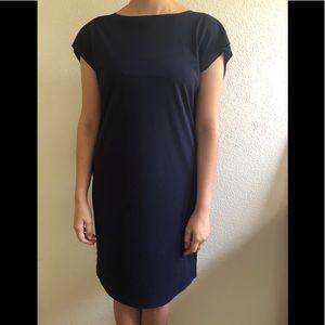 Miilla Clothing Dresses - Classic Navy Blue Shift Dress
